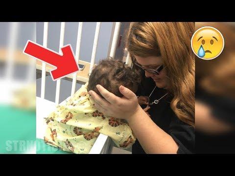 Padres adoptivos miran la cara de la bebé y salen huyendo, lo que hizo la mamá nadie lo esperaba...