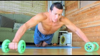 Tunalt Fitness Dual Ab-Core Wheels For Dynamic Core Exercises