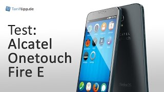 Alcatel OneTouch Fire E | Test