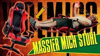 Wolmics Gaming Stuhl WS204 Upgrade Version + Fußstütze u Massage Funktion | Unboxing | Aufbau | Test