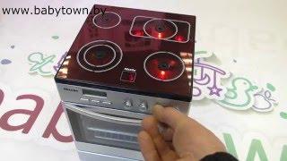 """Игрушечная плита со звуком и подсветкой MIELE Klein от компании Интернет-магазин """"Timatoma"""" - видео"""