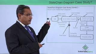 UML - State chart diagram case study