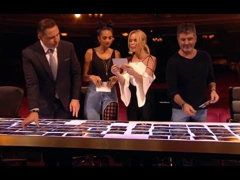 Audition Round Results, Who Will Be In The Semi-Final? | Britain's Got Talent 2017