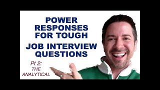 "Effective Communication Skills for Job Interviews: Answer to ""What are your weaknesses"" Pt 2"