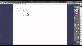 Special Right Triangles - Section 7.4