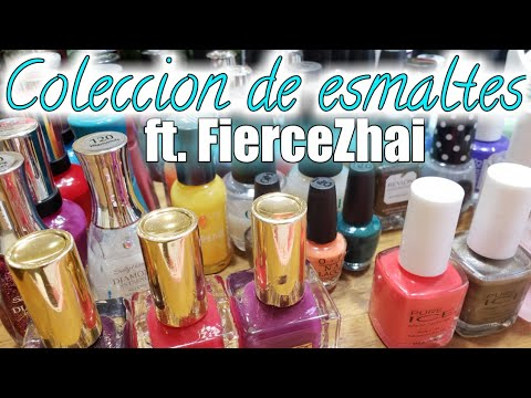 Coleccion de esmaltes|ft. FierceZhai