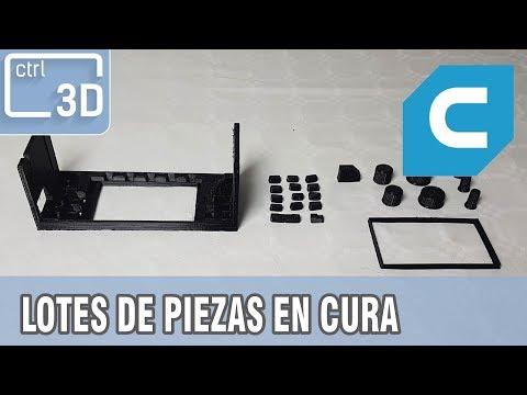 COMO CONFIGURAR LOTES, PIEZAS PEQUEÑAS Y GRANDES EN CURA 3.2.1 | Video tutorial en Español
