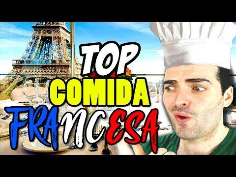 TOP 5 - COMIDA TIPICA FRANCESA 🇫🇷 - COCINA FACIL Y RAPIDA