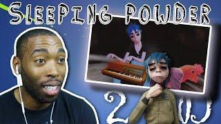 🦍 GORILLAZ REACTION - SLEEPING POWDER MUSIC VIDEO + LYRICS IN DESC
