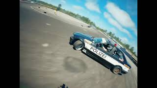 Police Driftcar Chase (FPV drone)