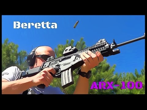Beretta ARX-100 5.56 Rifle Review (HD)
