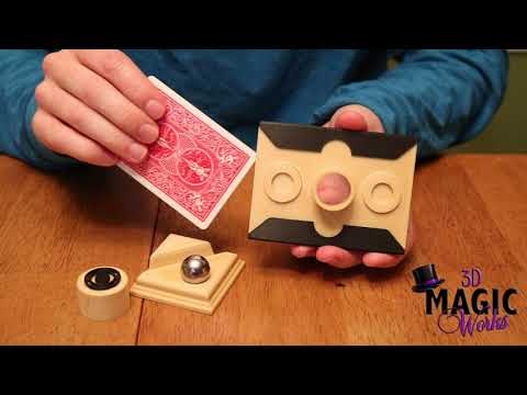 Card Punch (Steel Ball) by 3D Magic Works