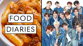 Everything SEVENTEEN Eats in a Day | Food Diaries: Bite Size | Harper's BAZAAR