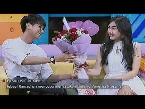 Detik Detik Iqbaal Ex CJR Nyatakan Cinta Ke Vanesha Prescilla Rumpi No Secret 22 Desember