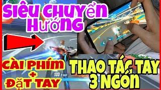 【ZING SPEED MOBILE】Hướng Dẫn SIÊU CHUYỂN HƯỚNG 3 Ngón Thao Tác Tay - Skill Nâng Cao DRIFT PHANH ĐÔI