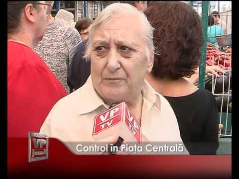Control în Piaţa Centrală