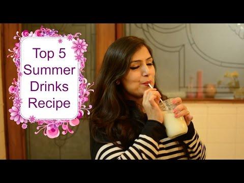 Video Top 5 Summer Drink Recipe | Best Summer Cooler Drink Recipe