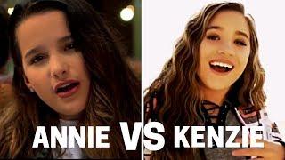 Annie VS Kenzie [SINGING]