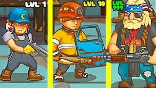 EVOLUTION OF SURVIVORS TO DONT BE EATEN BY ZOMBIE IN GAME HUMAN VS ZOMBIE!
