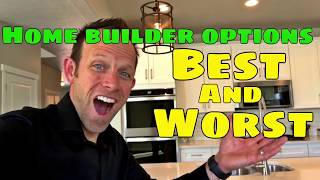 The most important upgrades for new construction homes. Best and worst upgrades when building a home