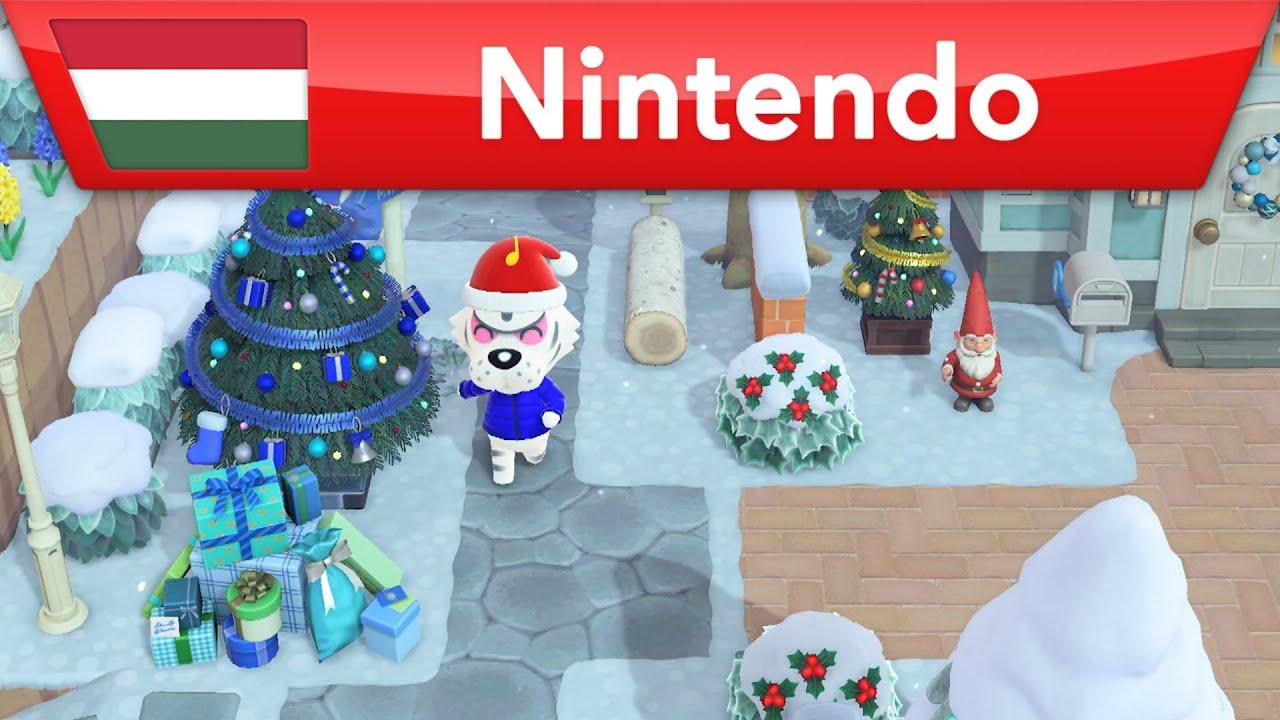 Animal Crossing: New Horizons - Itt a tél | Nintendo Switch