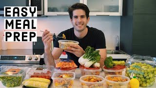 HOW TO MEAL PREP FOR COLLEGE STUDENTS (COOK WITH ME!) | KharmaMedic