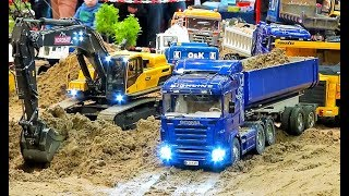 STUNNING RC MODELS AND CONSTRUCTION MACHINES IN ACTION! TRUCK! EXCAVATOR! TRACTOR! TIPPER AND MORE!
