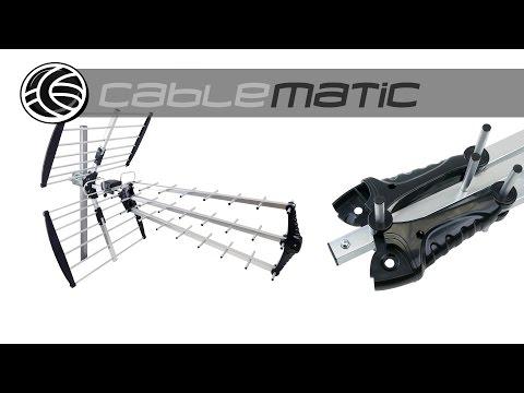 Antena de exterior de TV/TDT UHF de 15dB distribuido por CABLEMATIC ®