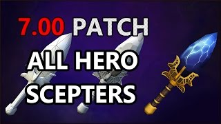 Dota 2 NEW Aghanim's scepter - ALL HEROES !!!