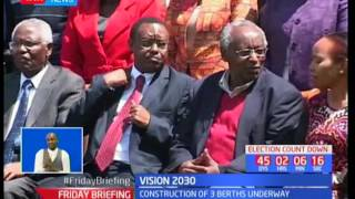 Head of the Civil Service Francis Muthaura defends LAPPSET project inline with Vision 2030