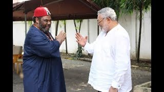Ex-Prez. Rawlings is my biological twin brother - Pete Edochie proofs
