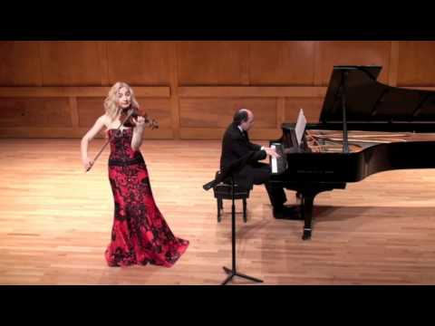 Wieniawski mazurca performed by me and pianist Dr Pablo Lavandera