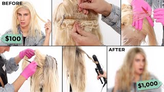 Turning a $100 Wig Into A $1,000 Wig