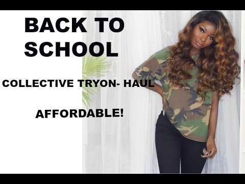 Back To School Collective Haul | Affordable