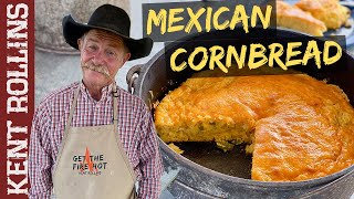 Mexican Cornbread | How To Make The Best Cornbread In Cast Iron