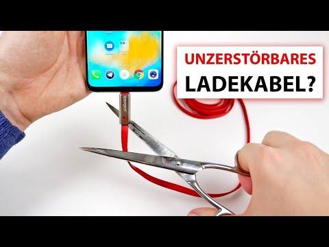 KABELBRUCH? Dieses Smartphone Ladekabel kann man selbst reparieren!