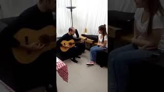 Mi Ángel Abel cumpliendo el sueño de Ariana.