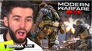 🔴 MODERN WARFARE MULTIPLAYER BETA GAMEPLAY LIVE with Vikkstar123 (Modern Warfare)