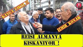 İzmir'de RTE Dünya Lideri Deyince .......