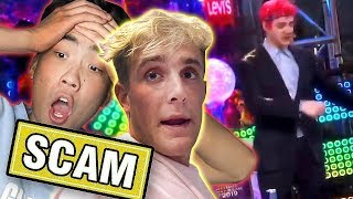 Jake Paul & Ricegum SCAM Mystery unbox ? / Ninja New Years Cringe / 📰 PEW NEWS📰