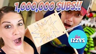 1 MILLION SUBSCRIBERS!!!