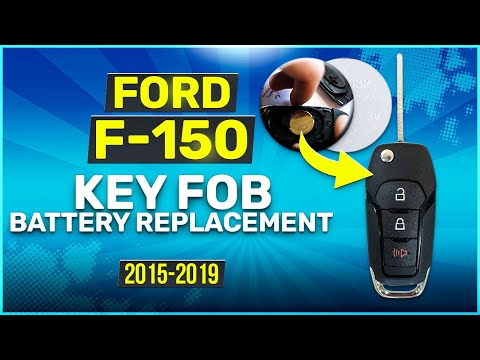 2015 2019 Ford F 150 Key Fob Battery Replacement