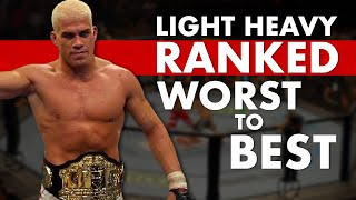 Every Light Heavyweight Champion Ranked: Worst To Best