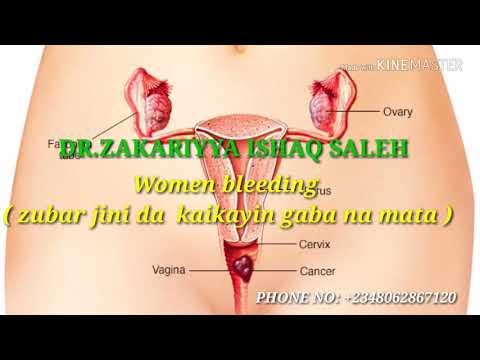 Zubar jini da kaikayin gaba na mata(Women bleeding)