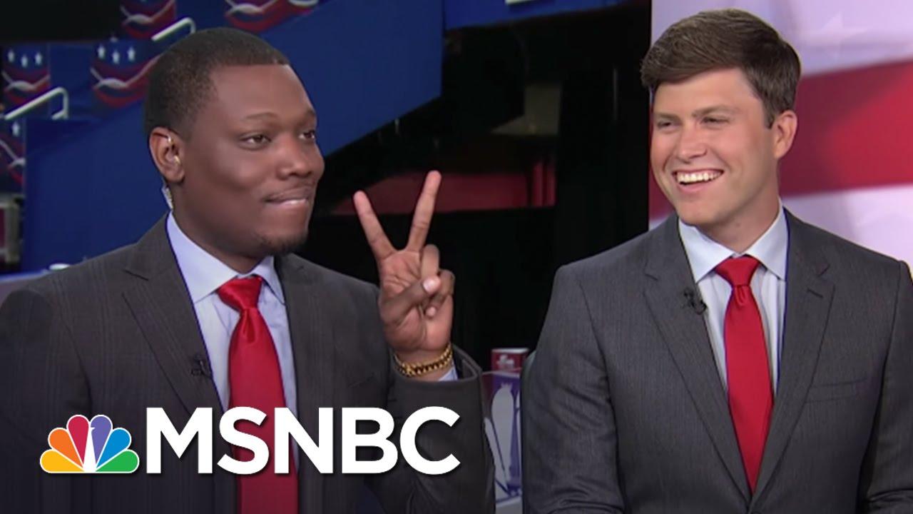 SNL's Michael Che, Colin Jost Take On The RNC   MSNBC thumbnail