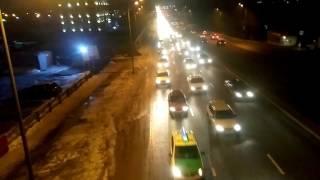 Новогодний Автопробег Алматы