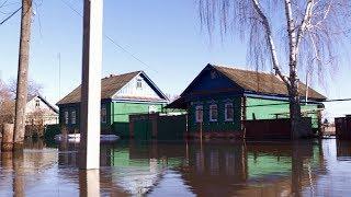 Из-за подтопления некоторые жители Сердобска не могут выйти из своих домов