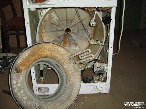 Лайфхак! Забилась машинка,не стирает,промывка машинки от накипи вам поможет