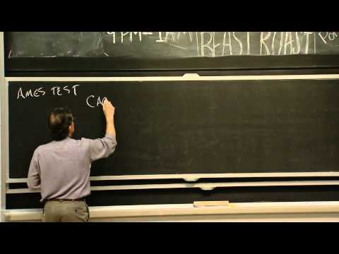 Lecture 29: Cancer - 1 | Video Lectures | Introductory Biology ...