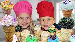 Kid Size Cooking: Cupcake Cones
